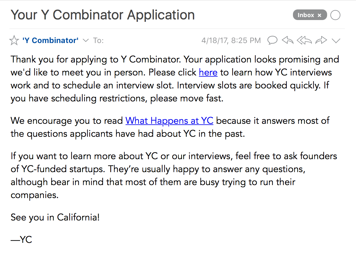 What We Learned When Y Combinator Said NO To Our Startup