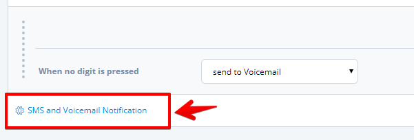 Toky IVR voicemail notification